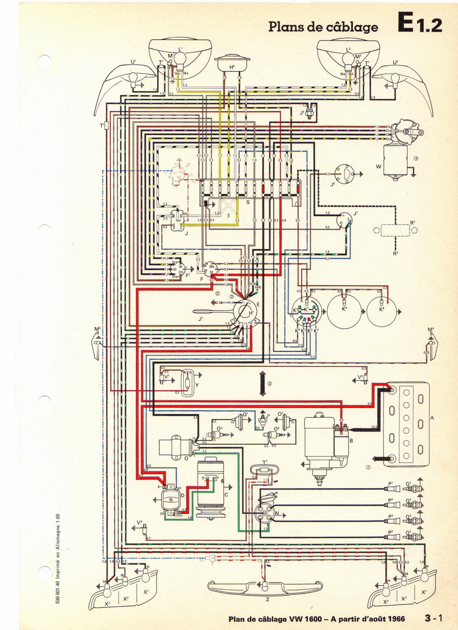 1971 ghia wiring diagram amphicar wiring diagram wiring Wiring Diagram 2009 Lexus SUV Dodge Truck Wiring Diagram